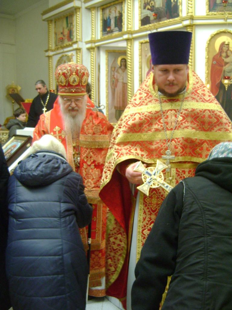 Служение митрополита Евлогия в Струнино 08.11.2017