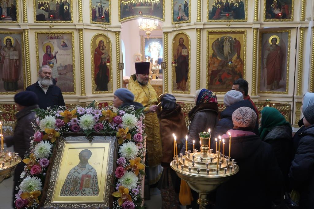 Престольный праздник святителя Николая 19.12.2019 год